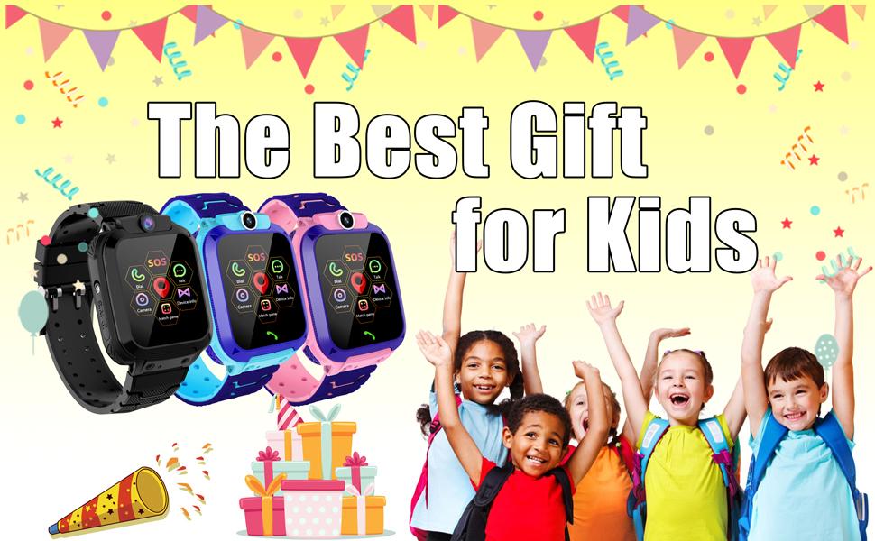 Teléfono inteligente para niños y niñas con GPS Tracker teléfono para niños