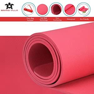 yoga met mattress gym gym mat black mat for yoga yoga mats for men and women 6mm yoga