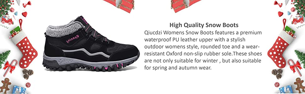 fashion women snow boots