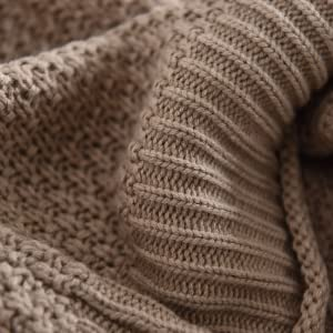 Cable knit sweater women