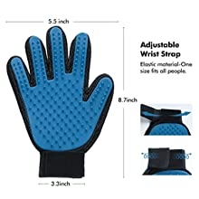 pet washing glove pet hair removal gloves pet fur remover glove Animals Dog Grooming Accessories