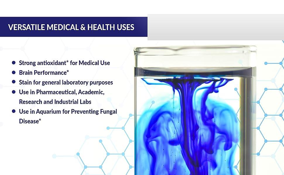 methylene blue dye, fish methylene blue, methylene blue usp, methylene chloride, parasite, medical