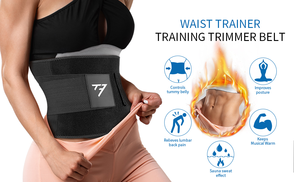 sweet sweat waist trimmer for women