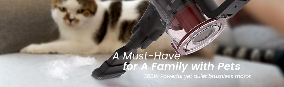 cordless vacuum for pet