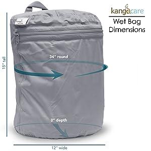 Kanga Care Wet Bag :: Platinum