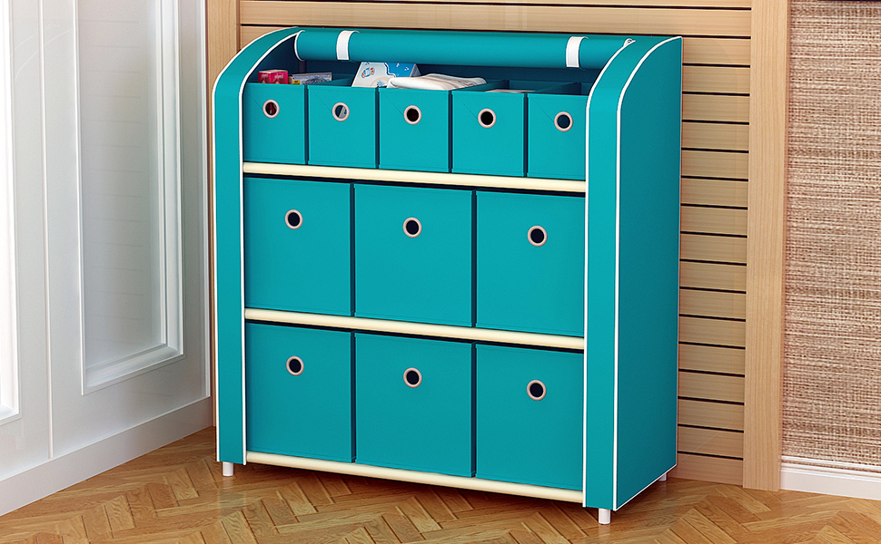 11 drawer storage unit