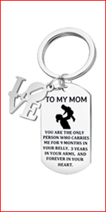 Love You Mom Key Chain