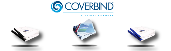 575800 Coverbind 1//16 White Clear Linen Thermal Covers 100pk