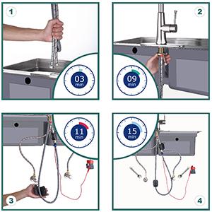 faucet touch sensor