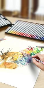 72 Colored Pencil Set