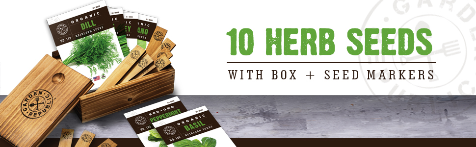10 Herb Seeds