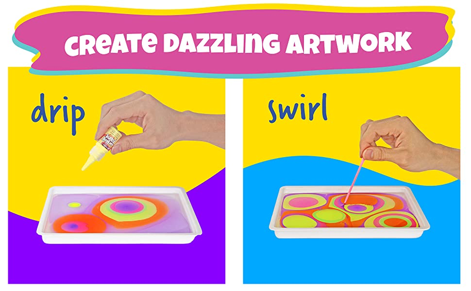 Drip swirl