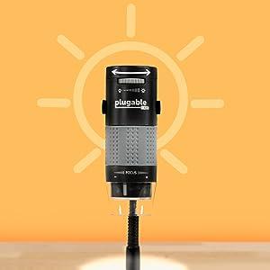 LED ライト内蔵