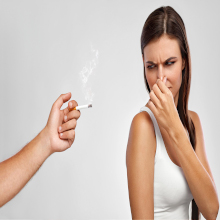 smoke on clothes cigarette smell