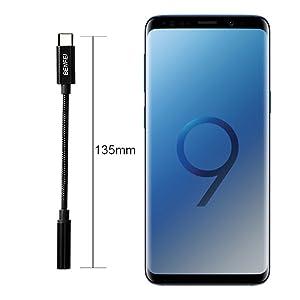 Samsung S20//S20 Ultra//Note 10//A80 Pixel 3//2XL XIAOMI 9//8 Dual USB C Kopfh/örer Adapter Wei/ß One Plus 7//6T MOYAGOA USB Typ C auf Klinke f/ür Huawei P40//P30//P20 Pro//Mate 10//20 Pro
