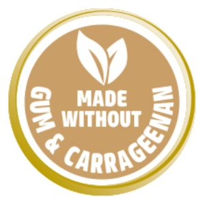 Made Without Gum & Carrageenan