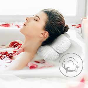 bathtub pillow for soaking