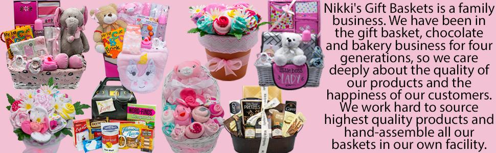Nikki's Gift Baskets New Baby Gift Birth Gift