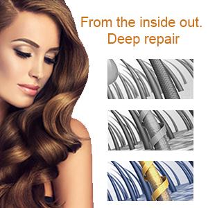 ヘアルーツトリートメント健康的なソフトヘアケアエッセンスを修復柔らかい