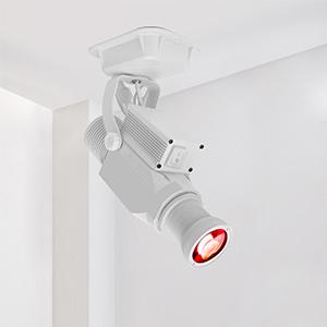 gobo projector logo light custom gobo white remote control