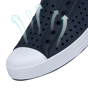 breathable summer clogs