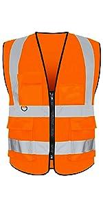 10 Pack Custom Logo Safety Vest