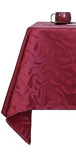Deconovo curly Square Tablecloth