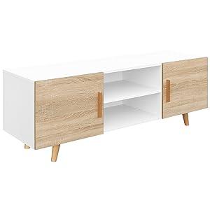 COMIFORT Mueble de TV - Mesa de Salón Moderno, Estilo Nórdico ...