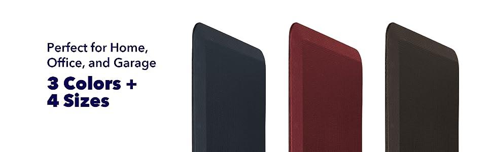 Comfort Mat colors Equinox