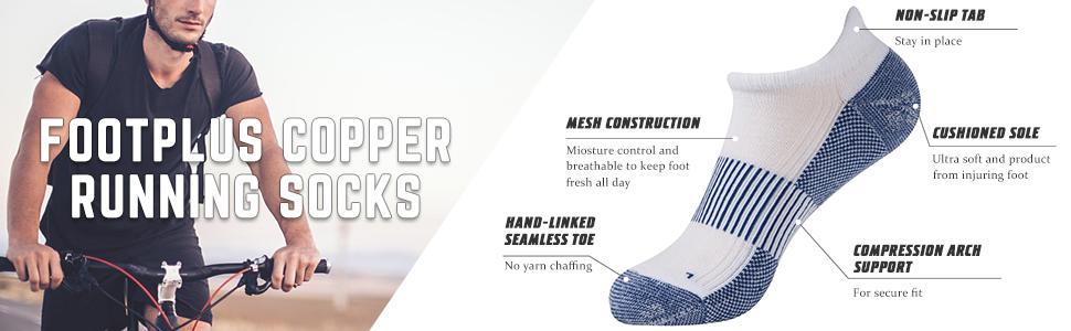 copper golf socks