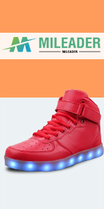 LED shoes for adult