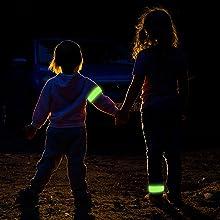 kids slap band safety light for kids reflector for kids reflective running gear for runners