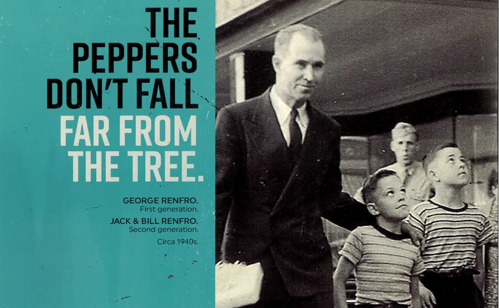 the peppers don't fall far from the tree