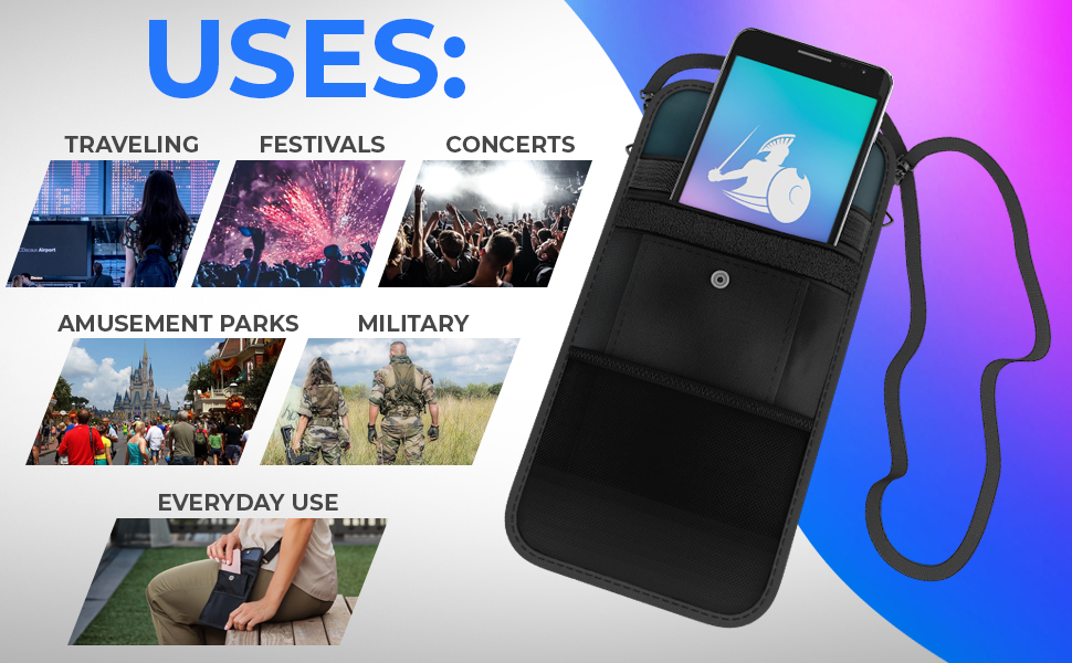 Many Uses Such as Traveling, Festivals, Concerts, Amusement Parks, Military & Everyday Use