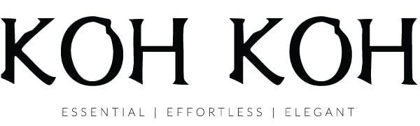 KOH KOH essential effortless elegant