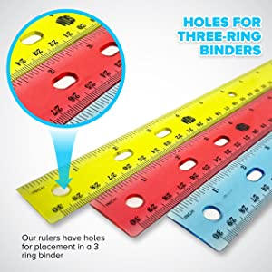 rulers for binder