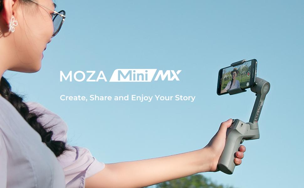 Moza Mini Mx 3 Achsen Gimbal Stabilisator Für Kamera