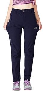 Womens Quick Dry Hiking Pants