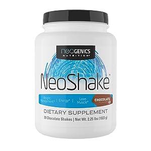neoshake chocolate protein shake keto friendly