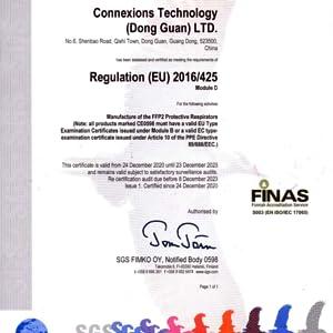 FFP2 D Certification