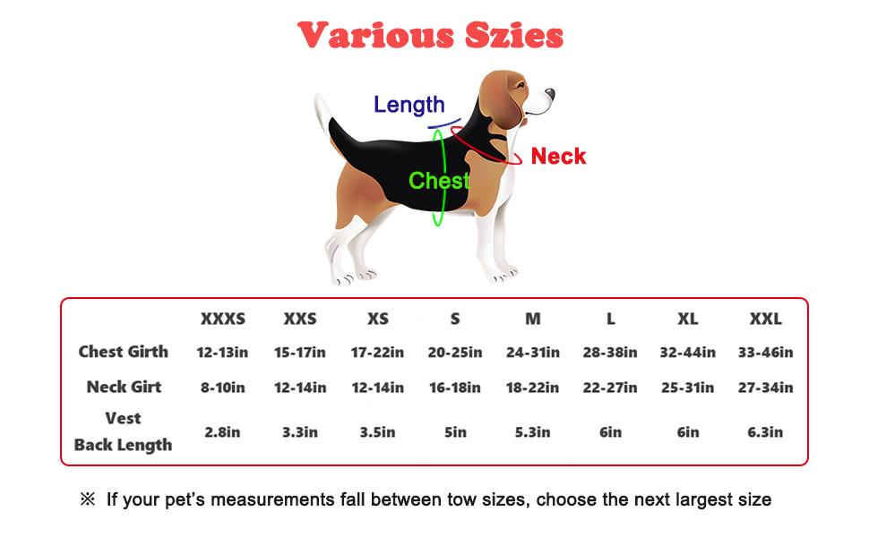 dog harness for small medium large dog