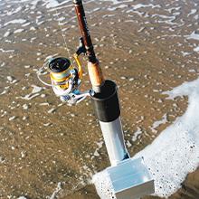 Sand Spike Flea Rake fishing gear fish crab shrimp bait sea ocean catch basket sharp teeth fishermen