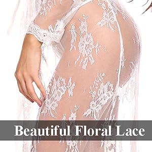 floral lace lingerie