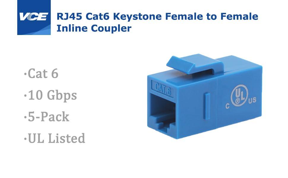 CAT6 Keystone Coupler
