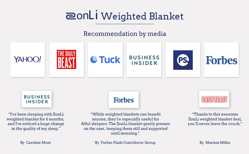 Zonli Kid Weighted Blanket 5 Lbs 36 X48 Light Grey