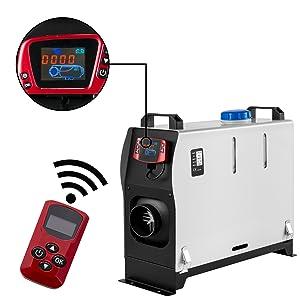12 V//24 V aria riscaldatore diesel interruttore di parcheggio pannello riscaldatore di parcheggio telecomando LCD blu con telecomando rosso