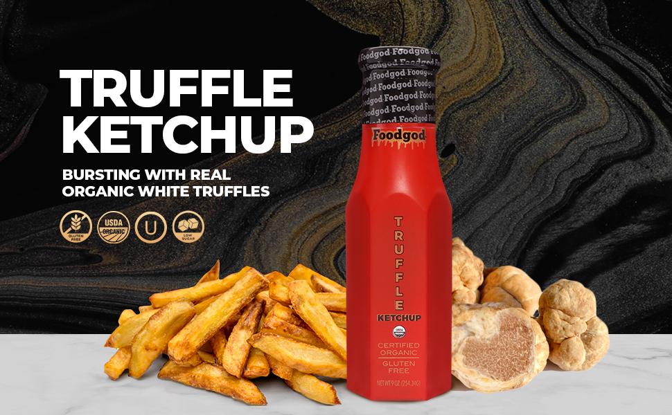 Foodgod Organic White Truffle Ketchup