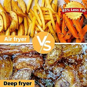 less fat air fryer