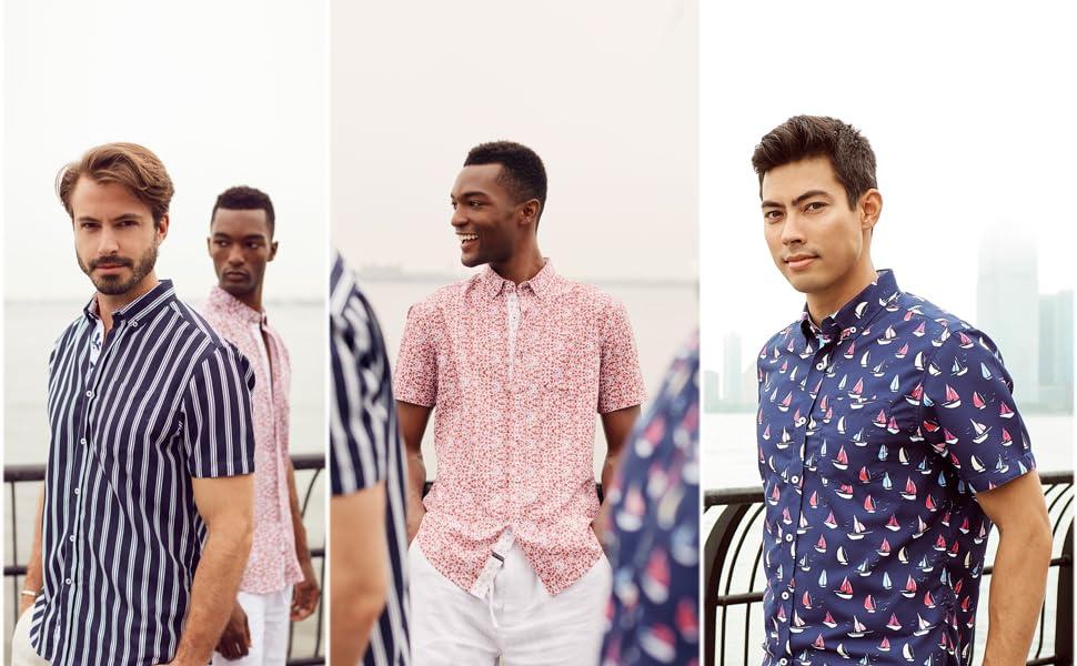 stylish and fashionable prints on shirts