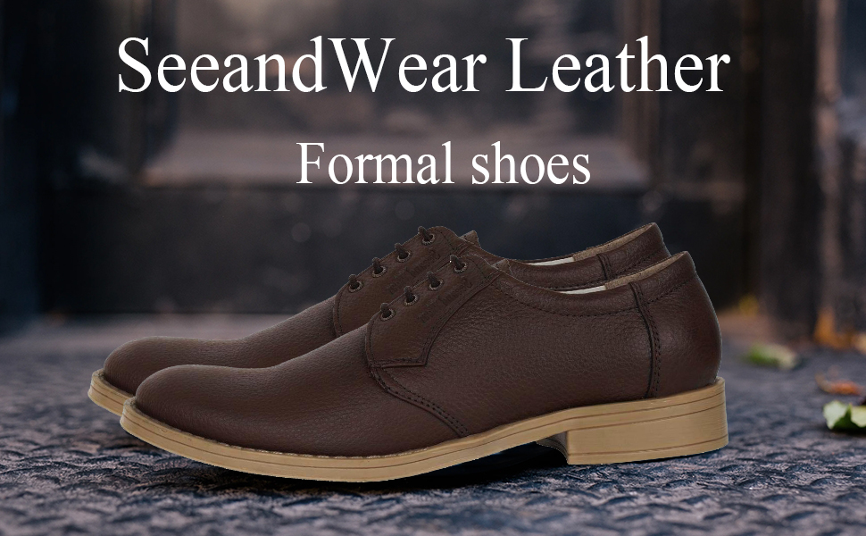 SeeandWear Leather Formal Shoes for Men
